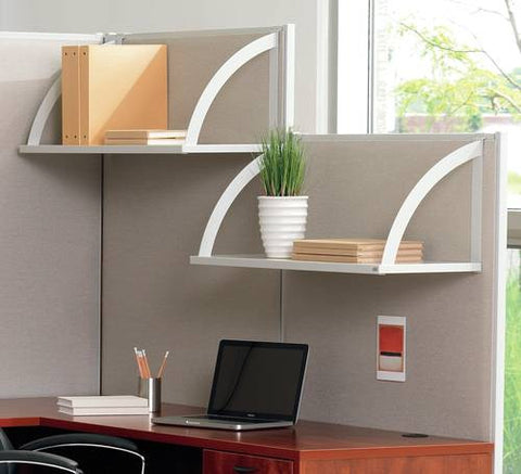 "Hang-On Shelf for Verse® Series Room Dividers, 24"" W"