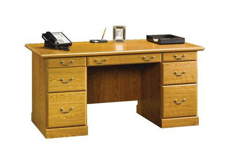 "Orchard Hills Executive Desk, 64-3/8"" W x 29-1/2"" D"