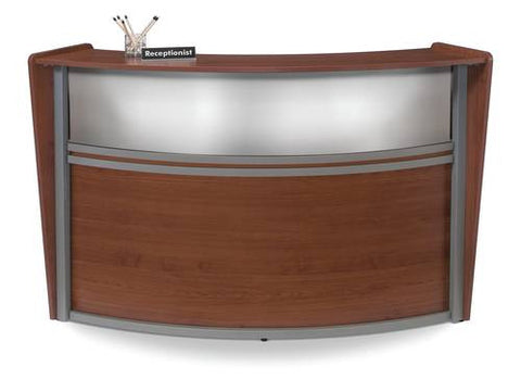 Marque Series Laminate/Poly Single Reception Station