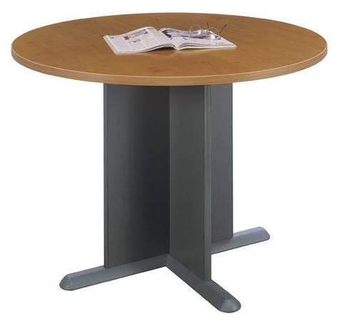 "Series C Modular Office Furniture, 42"" Round Conference Table"