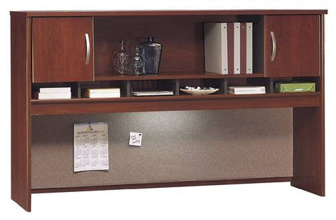 "Series C Modular Office Furniture, 2-Door Hutch, 71"" W x 16"" D x 43"" H"