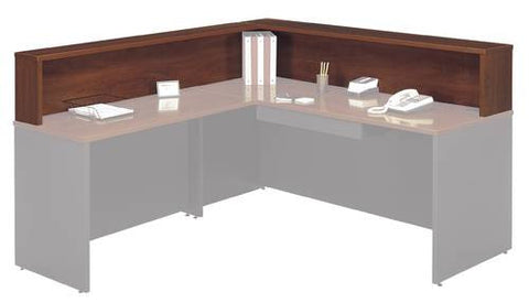 "Series C Modular Office Furniture, Reception Gallery, 77"" W x 71"" D x 14"" H"