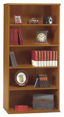 "Series C Modular Office Furniture, Bookcase, 36"" W x 16"" D x 73"" H"