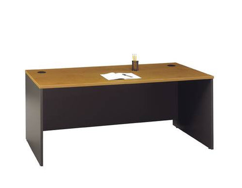 "Series C Modular Office Furniture, Manager's Desk Shell, 71"" W x 30"" D x 30"" H"