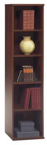 "Series C Modular Office Furniture, Tower Bookcase, 18"" W x 16"" D x 73"" H"