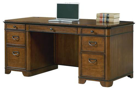 Kensington Executive Double Pedestal Desk