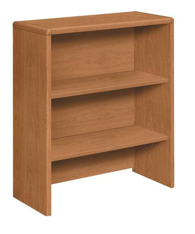 "HON®, Laminate Collection, Bookcase Hutch for Lateral File, 33"" W x 15"" D x 37"" H"