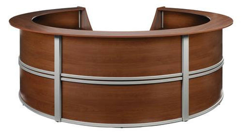 Marque Series Five-Piece Full Laminate Reception Station