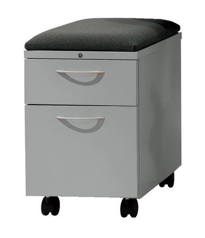 Flagship®, Mobile Pedestal, Box/File, Cushion Top
