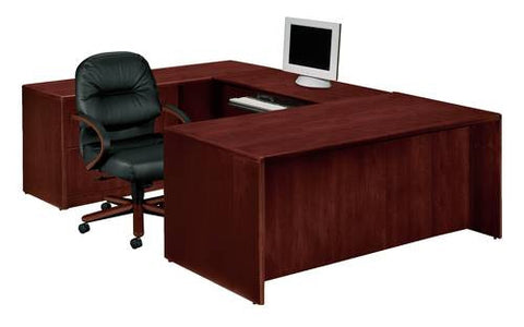 HON®, 10700 Laminate Collection, Deluxe Executive U Desk