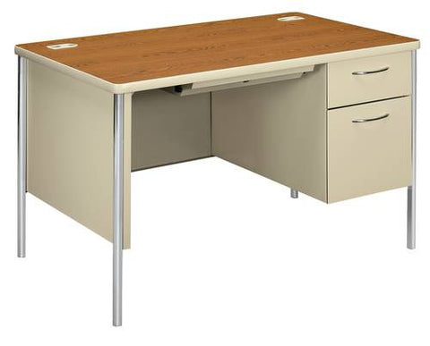 "Mentor®, Series Teacher's Single Right Pedestal Desk, 48"" x 30"""