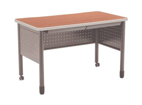 "Mesa Series Mobile Training Table with Drawers, 48"" W x 26"" D x 29"" H"
