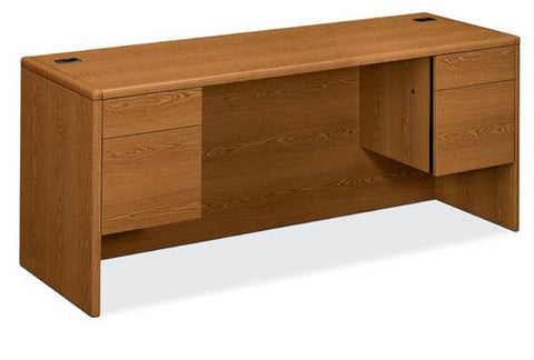 "HON®, 10700 Laminate Collection, Kneespace Credenza, 72"" x 24"""