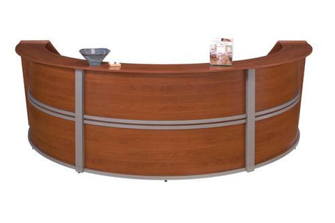 Marque Series Full Laminate Three-Piece Reception Station