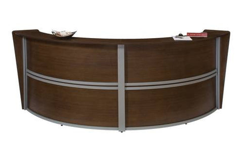 Marque Series Full Laminate Two-Piece Reception Station