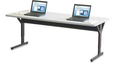 "Brawny Computer Training Table, Double, 72"" x 30"""