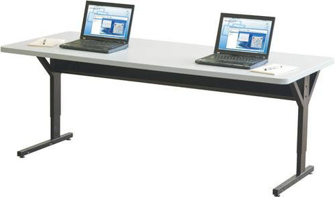 "Brawny Computer Training Table, Double, 60"" x 30"""