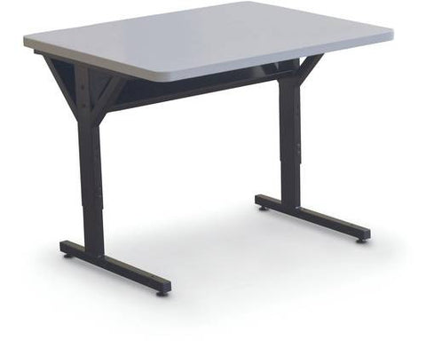 "Brawny Computer Training Table, Single, 36"" x 30"""