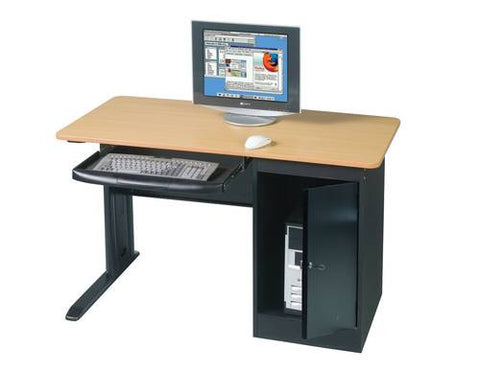 LX Locking Computer Workstation, Single Unit