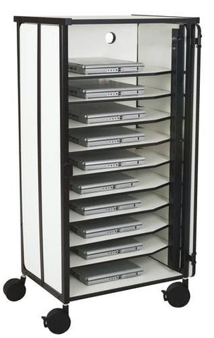 "Mobile Laptop Charging Cabinet, Single Cabinet, 23-1/2"" W"