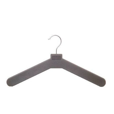 Black Plastic Hangers, Pack of 24