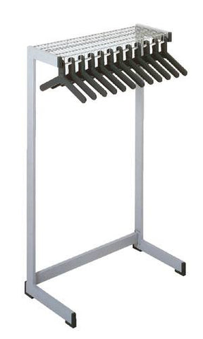 Heavy-Duty Coat and Hat Rack with Casters, 16 Hangers