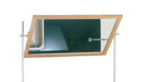 Mirror for Mobile Demonstration Tables