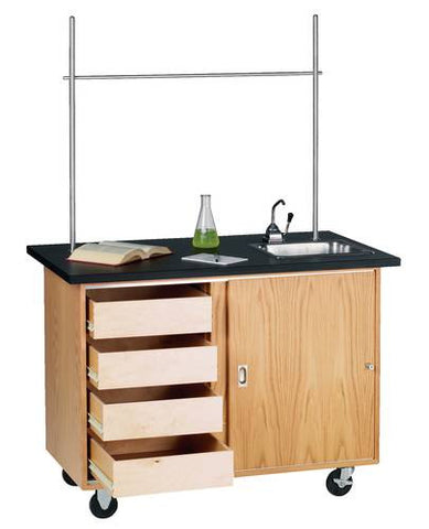 Deluxe Lab Table with Sink