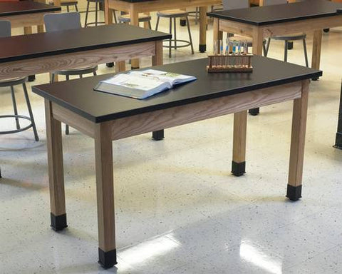 "Superior Science Lab Table with Phenolic Top, 24"" x 72"""