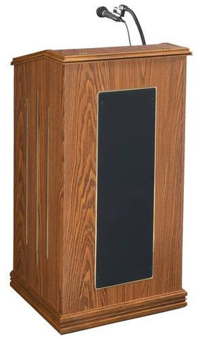 Deluxe Sound Column Lectern, Wireless