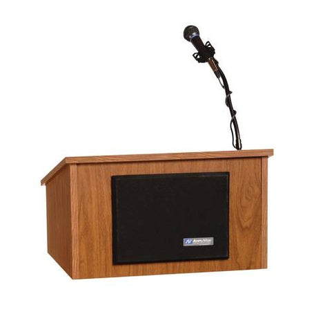 Table-Top Lectern, Wired