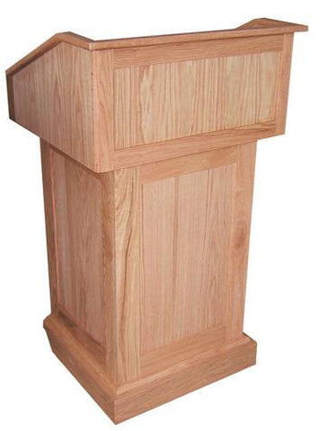 Solid Wood Non-Sound Floor Lectern