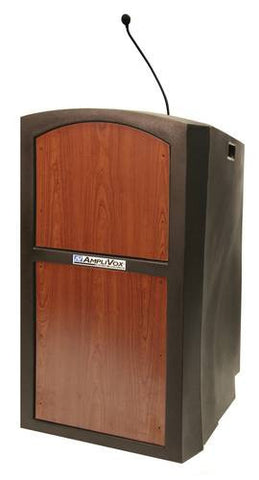 Pinnacle Series Multimedia Non-Amplified Wired Lectern