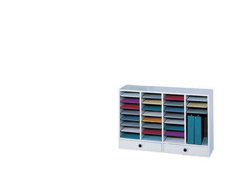 32-Compartment, 2-Drawer Adjustable-Compartment Organizer