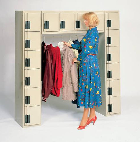 16-Person Flush-Front Silent Locker