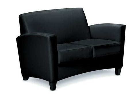 Invitation® Series Loveseat, Leather Upholstery