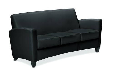Invitation® Series Sofa, Leather Upholstery