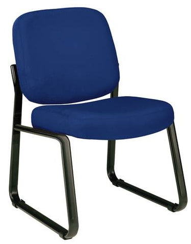 Fernbrook Sled Base Armless Chair, Fabric Upholstery