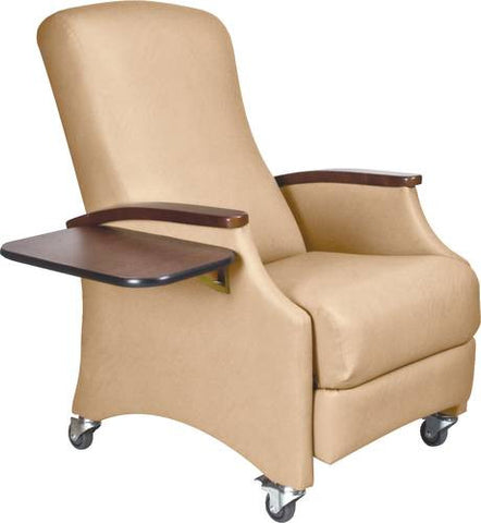 Miller Collection Bariatric Recliner with Folding Side Tray Standard Fabric  sc 1 st  ATD-CAPITOL : recliner sleeper - islam-shia.org