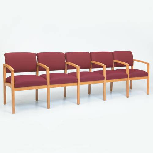 The Lenox Collection 5-Seat Sofa with Arms, Standard Fabric