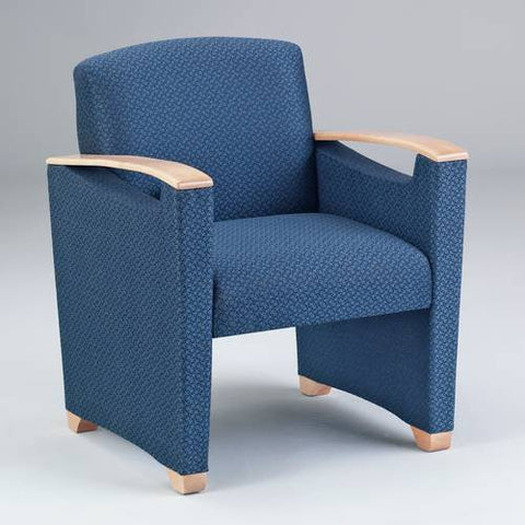 Somerset Collection Guest Chair, Healthcare Vinyl Upholstery