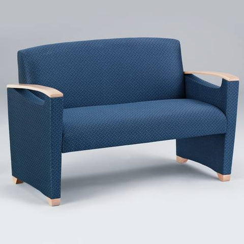 Somerset Collection 2-Seat Settee, Fabric Upholstery