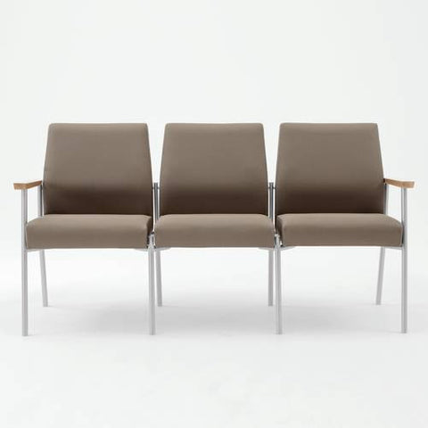 Mystic Series 3-Seat Sofa, Woven Crypton Upholstery