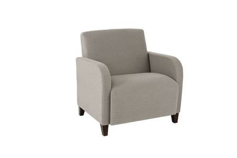 Siena Series Guest Chair with Arms, 500 lb. Capacity, Standard Solid Fabric