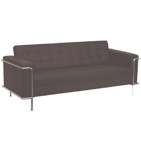 Lesley Series Contemporary Leather Sofa