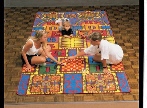 """Games That Teach"" Carpet, 12' W x 6' D"