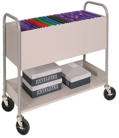 Mailroom Utility Cart with Casters