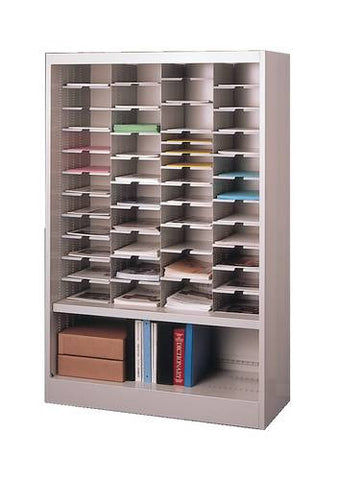 "Forms/Storage Cabinet, Locking Doors, 42"" x 16"" x 65"""