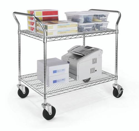 "Heavy-Duty Mobile Cart, 24"" x 36"""