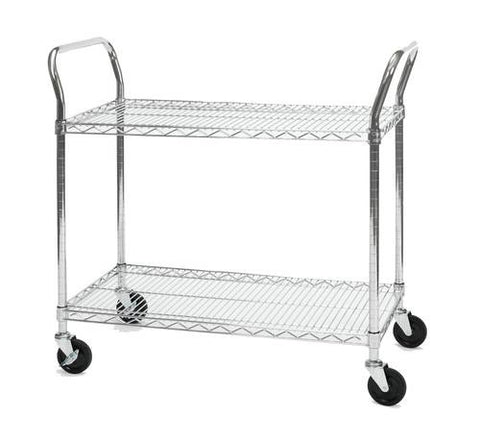 "Heavy-Duty Mobile Cart, 18"" x 36"""